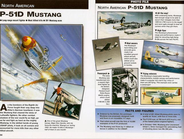 Aircraft of world war ii left page